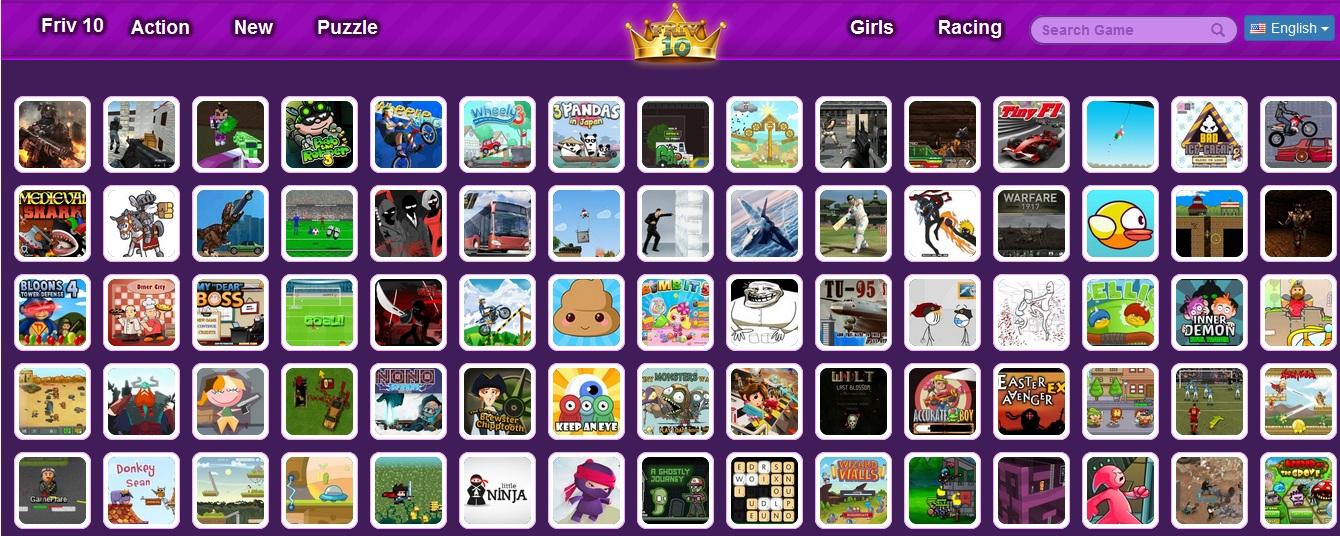 Friv 10 Mobile Html5 Games For Phones Tablets